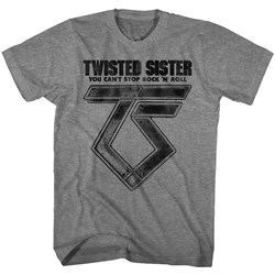 Twisted Sister - Mens Can'T Stop Rock'N'Roll T-Shirt