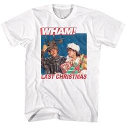 Wham - Mens Last Christmas Lyrics T-Shirt