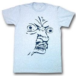 Y U No - Mens Face Shot T-Shirt