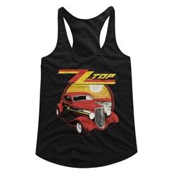 Zz Top - womens Eliminator Racerback Tank Top