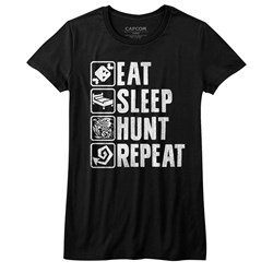 Monster Hunter - Juniors Hunt Repeat T-Shirt