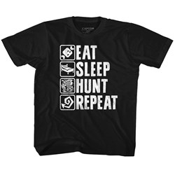Monster Hunter - unisex-baby Hunt Repeat T-Shirt