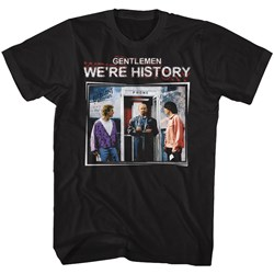 Bill And Ted - Mens We'Re History Color T-Shirt