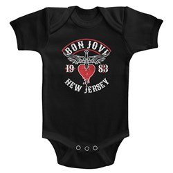 Bon Jovi - unisex-baby Nj38 Onesie