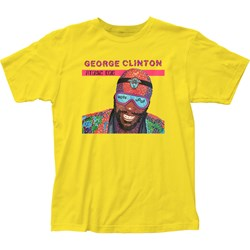 George Cliinton Mensgeorge Clinton Atomic Dog Fitted Jersey T-Shirt