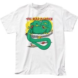 Dead Milkmen Mens Big Lizard In My Backyard Adult T-Shirt