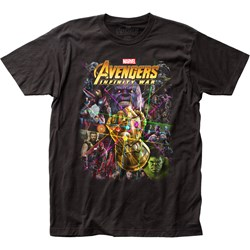 Avengers: Infinity War  Mensfitted Jersey T-Shirt
