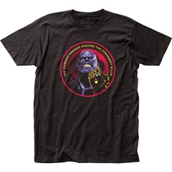Avengers: Infinity War  Mensthanos Fitted Jersey T-Shirt