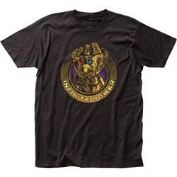 Avengers: Infinity War  Mensinfinite Power Fitted Jersey T-Shirt