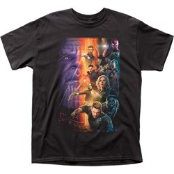 Avengers: Infinity War  Mensposter Adult T-Shirt