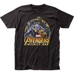 Avengers: Infinity War  Mensvillains Fitted Jersey T-Shirt