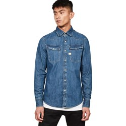 G-Star Raw Mens 3301 Button Down Long Sleeve Shirt