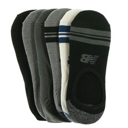 New Balance - Unisex Lifestyle Ultra Low No Show 6 Pack Socks
