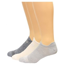 New Balance - Unisex Lifestyle Low Cut Double Tab 3 Pack Socks
