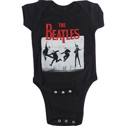 The Beatles - Unisex-Baby Jump Photoonesie T-Shirt