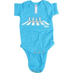 The Beatles - Unisex-Baby Abbey Road Silhouette Onesie T-Shirt