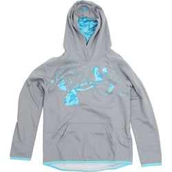 Under Armour - Girls AF Print Fill Logo Warmup Top