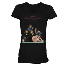 Breakfast Club, The - Poster Womens T-Shirt In Black