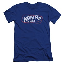 Astro Pop - Mens Vintage Logo Premium Slim Fit T-Shirt