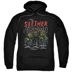 Seether - Mens Mind Control Pullover Hoodie
