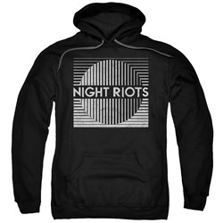Night Riots - Mens Title Pullover Hoodie