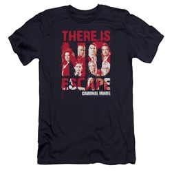 Criminal Minds - Mens No Escape Premium Slim Fit T-Shirt