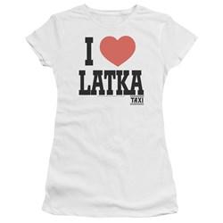 Taxi - Juniors I Heart Latka Premium Bella T-Shirt
