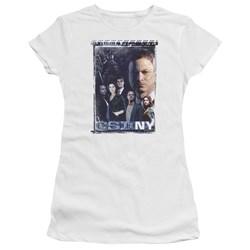 Csi Ny - Juniors Watchful Eye Premium Bella T-Shirt