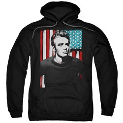James Dean - Mens Painted Icon Pullover Hoodie