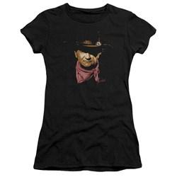 John Wayne - Juniors Splatter Premium Bella T-Shirt