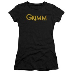 Grimm - Juniors Gold Logo Premium Bella T-Shirt