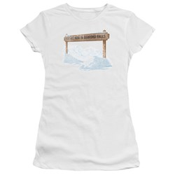 Its A Wonderful Life - Juniors Bedford Falls Premium Bella T-Shirt