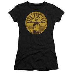 Sun - Juniors Elvis Full Sun Label Premium Bella T-Shirt