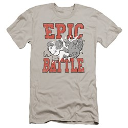 Family Guy - Mens Epic Battle Premium Slim Fit T-Shirt