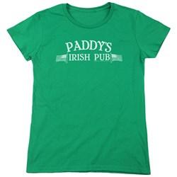 Its Always Sunny In Philadelphia - Womens Paddys Logo T-Shirt