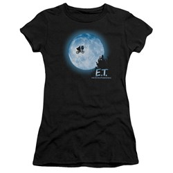 Et - Juniors Moon Scene Premium Bella T-Shirt