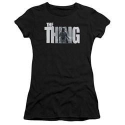 Thing - Juniors Logo Premium Bella T-Shirt