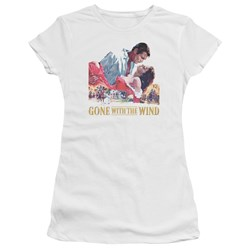 Gwtw - Juniors On Fire Premium Bella T-Shirt