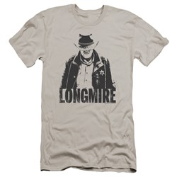 Longmire - Mens One Color Premium Slim Fit T-Shirt