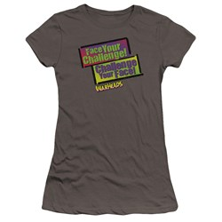 Warheads - Juniors Face Your Challenge Premium Bella T-Shirt