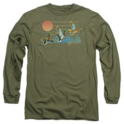 Wild Wings - Mens Three Ducks Long Sleeve T-Shirt