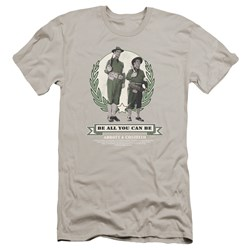 Abbott & Costello - Mens Be All You Can Be Premium Slim Fit T-Shirt