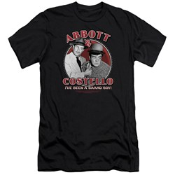 Abbott & Costello - Mens Bad Boy Premium Slim Fit T-Shirt
