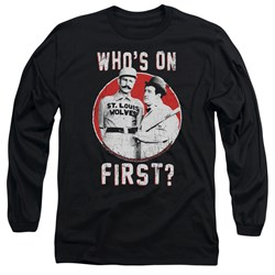 Abbott & Costello - Mens First Long Sleeve T-Shirt