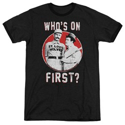 Abbott & Costello - Mens First Ringer T-Shirt