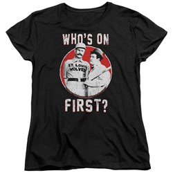 Abbott & Costello - Womens First T-Shirt