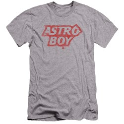 Astro Boy - Mens Logo Premium Slim Fit T-Shirt
