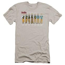 Archie Comics - Mens Archie Timeline Premium Slim Fit T-Shirt
