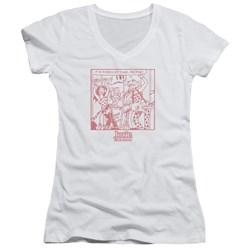 Archie Comics - Juniors Its Time V-Neck T-Shirt