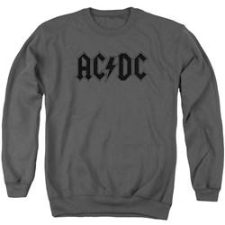 Acdc - Mens Worn Logo Sweater
